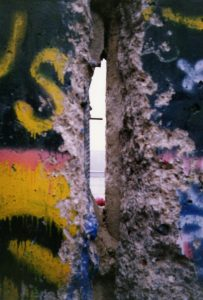 A view through the wall (from 1989)